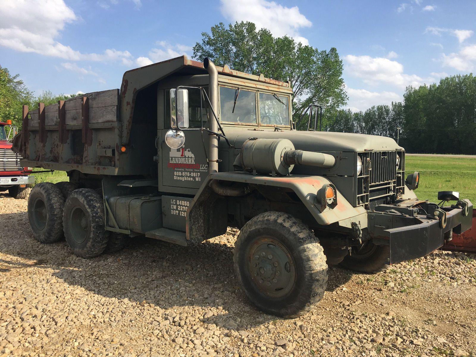 dump truck 1967 jeep kaiser military M51a2 for sale