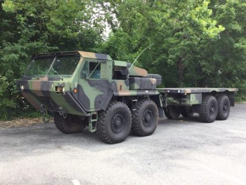 Great shape 1988 Oshkosh MK48/14 8×8 military for sale