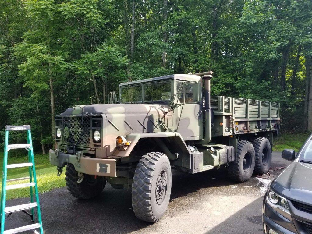 New fluids 1993 BMY M923A2 6×6 HardTop military