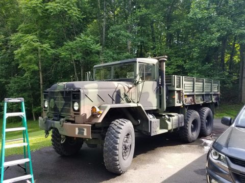 New fluids 1993 BMY M923A2 6×6 HardTop military for sale