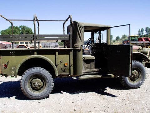 Older overhaul 1954 Dodge M37 3/4 Ton military for sale