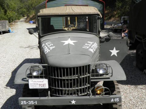 Pearl Harbor veteran 1940 Dodge WC3 military for sale