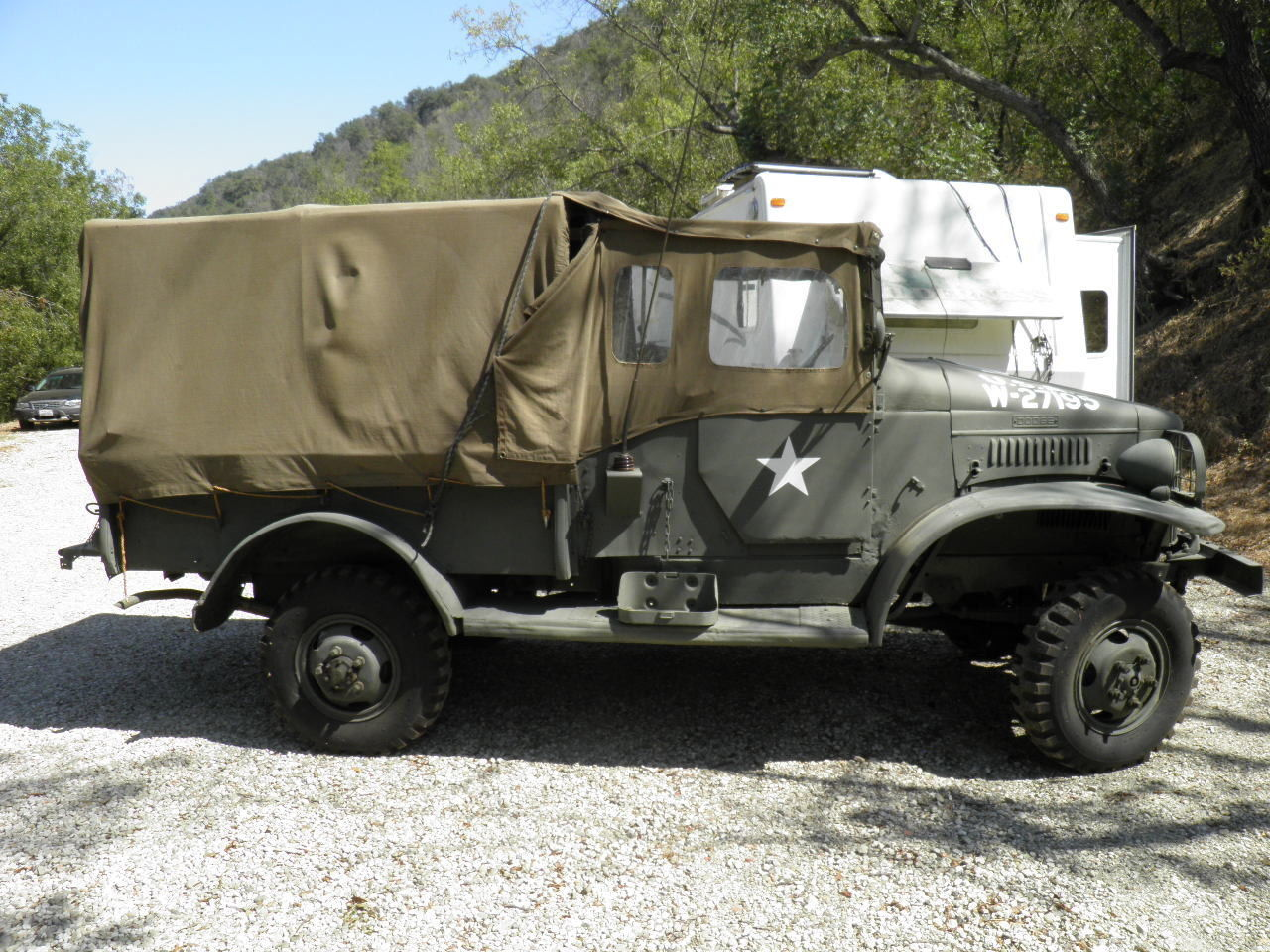 Pearl Harbor veteran 1940 Dodge WC3 military