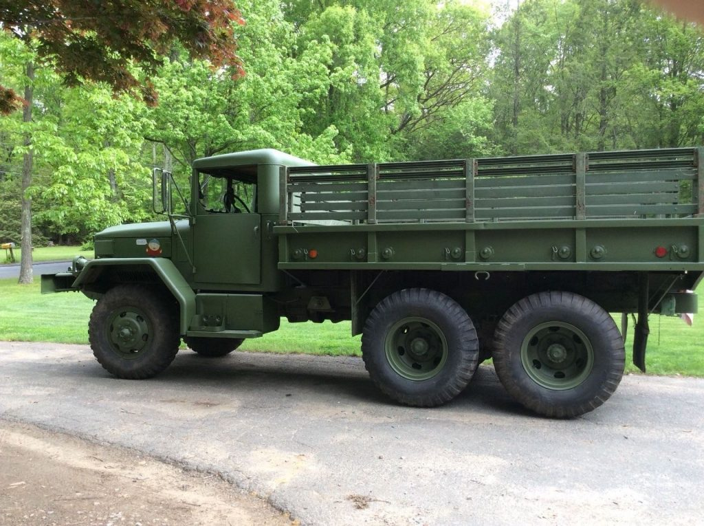 Restored 1973 Kaiser Jeep M35a2 M49a2 for sale