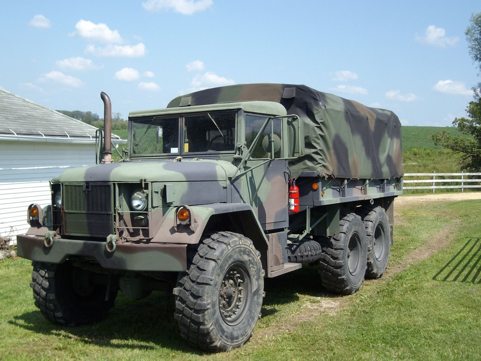 Turbo equipped 1967 Kaiser Jeep M35a2 for sale
