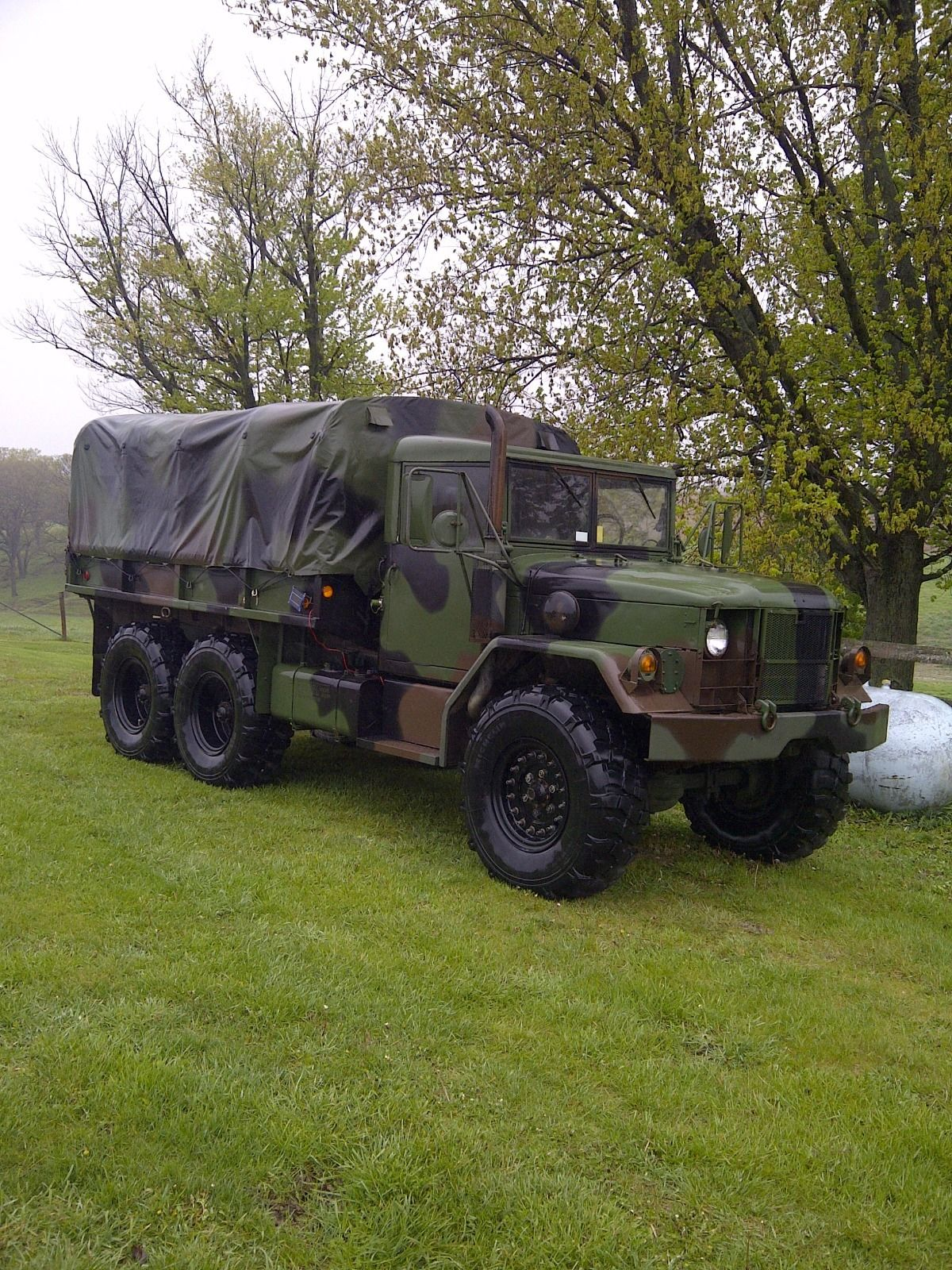 Turbo equipped 1967 Kaiser Jeep M35a2