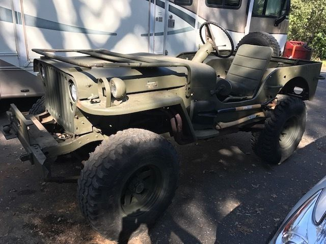 1942 Ford GPW FORD Script JEEP military for sale