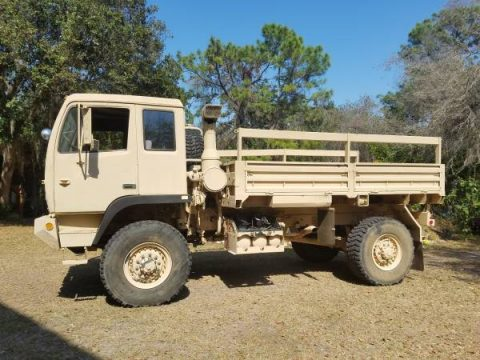 air ride cab 1998 Stewart Stevenson M1078 LMTV 4×4 Military Truck for sale