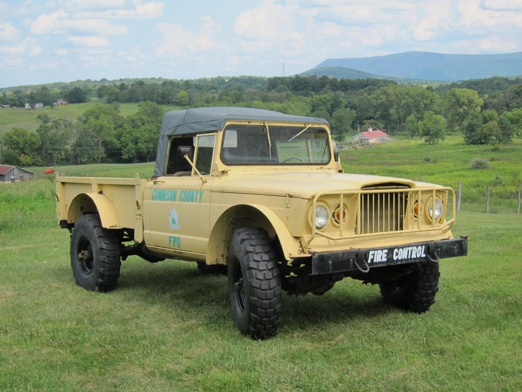 all original Jeep M715 Kaiser Pickup for sale