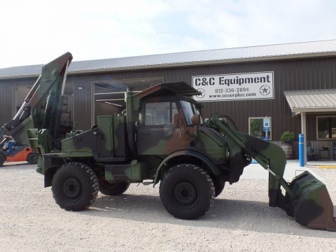 low mileage 1987 Unimog SEE tractor military for sale