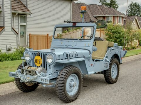 Navy Variant 1952 Willys M-38 military for sale