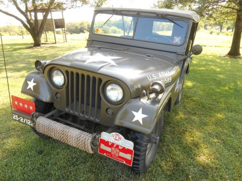 older restoration 1954 Willys M38a1 military for sale