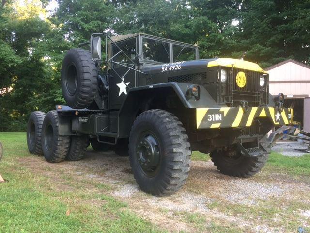 redone 1956 Mack Army M123 Truck