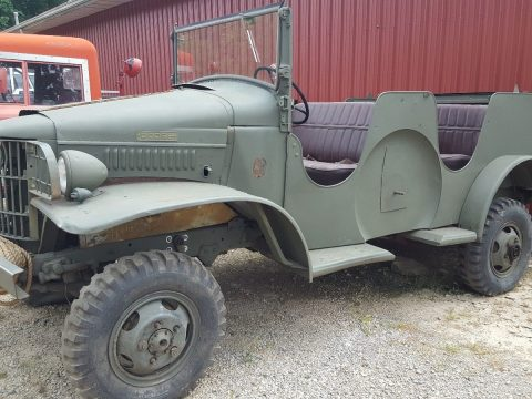Solid but not running 1941 Dodge WC-6 Command military for sale
