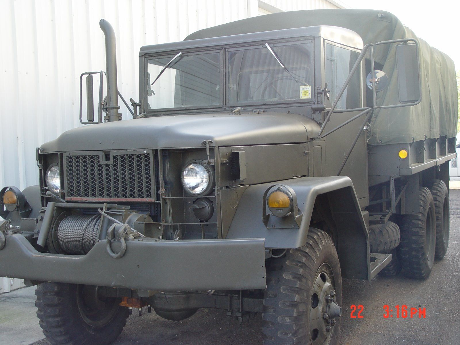 Trailer included 1970 Kaiser amg military for sale