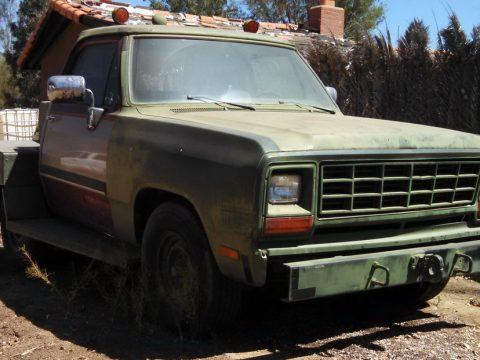 aircraft tug 1990 Dodge Ram Military for sale