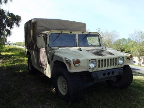 excellent shape 1986 AM General Hummer H1 Military Humvee for sale