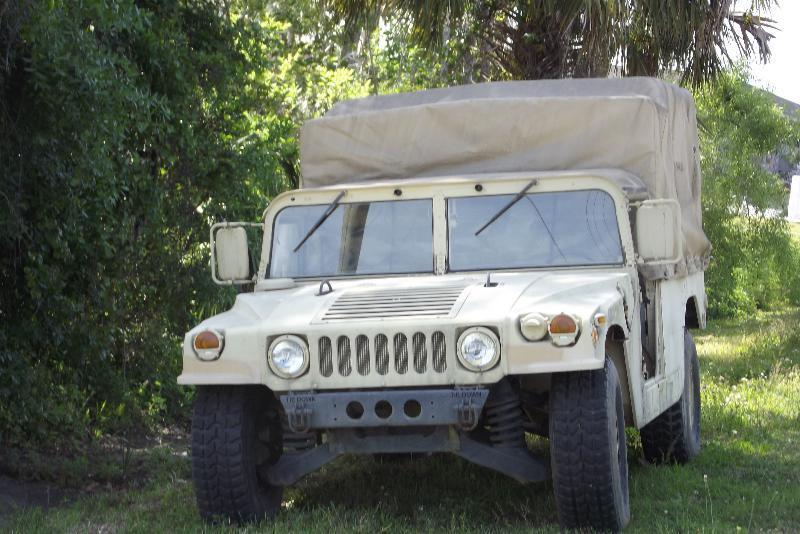 excellent shape 1986 AM General Hummer H1 Military Humvee