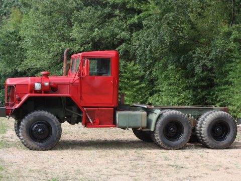 garaged 1970 AM General M818 5 Ton Truck 6×6 military for sale
