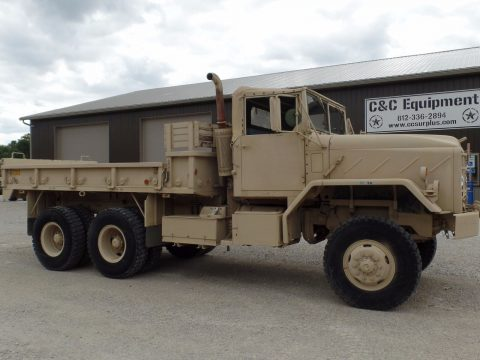 great condition 1984 AM General M923a1 Military Cargo Truck for sale