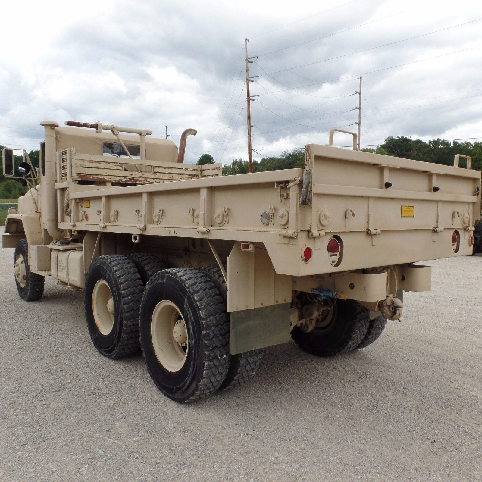 great condition 1984 AM General M923a1 Military Cargo Truck