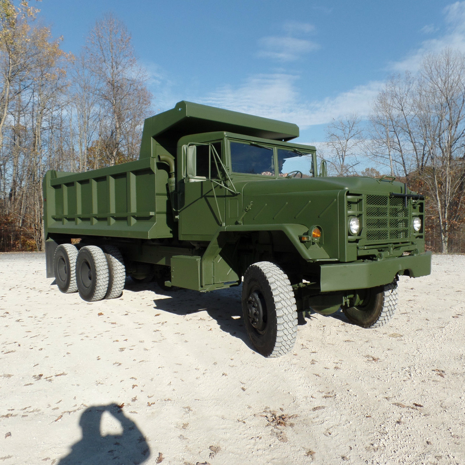 great condition 1984 AM General M934A1 Military dump for sale