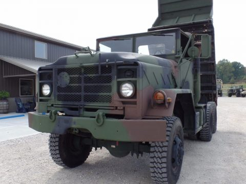 great running 1986 Am General M929A1 Military dump truck for sale