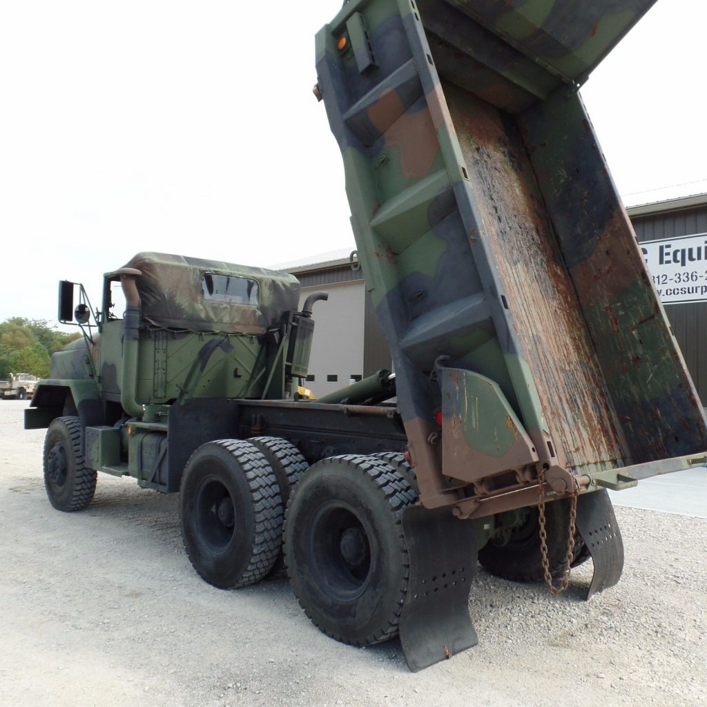 great running 1986 Am General M929A1 Military dump truck