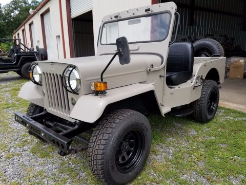made by Mitsubishi 1987 Willys Jeep CJ3B military for sale