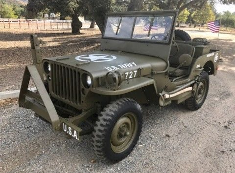 missing top 1944 Ford GPW military for sale
