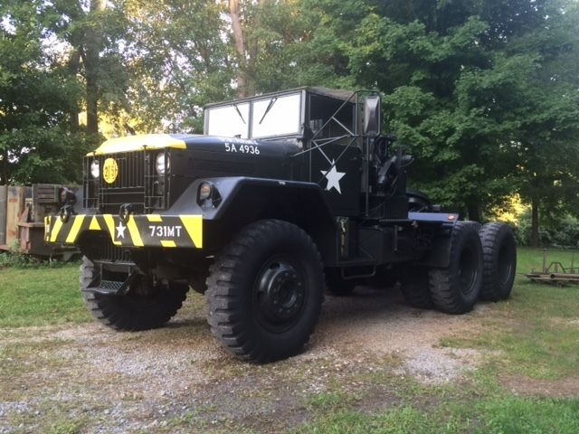 New Engine 1956 Mack Army M123 Truck Military For Sale