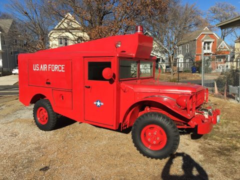 rare 1953 Dodge Military Fire Rescue M56 R2 for sale