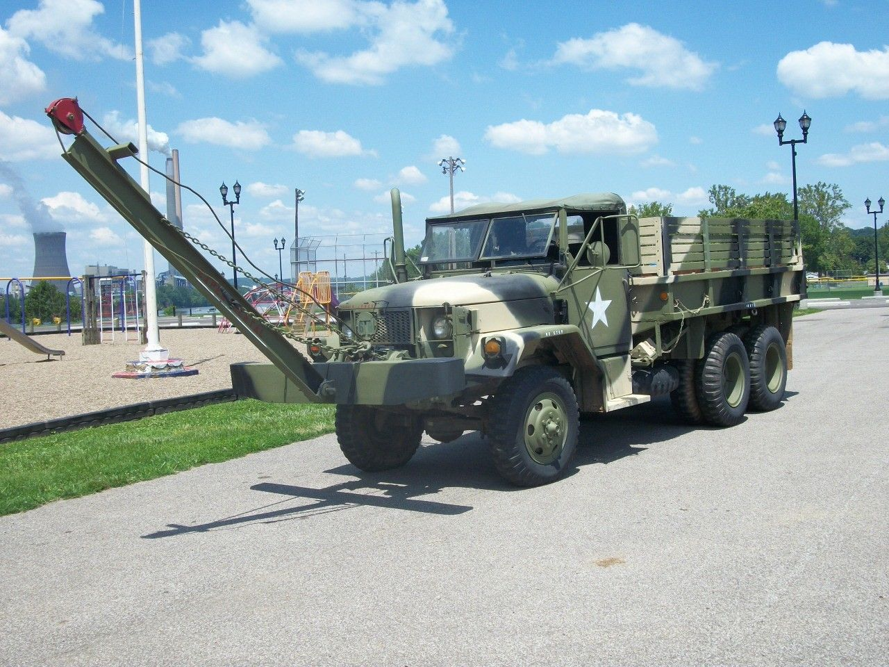 winch equipped 1968 Kaiser Jeep military for sale