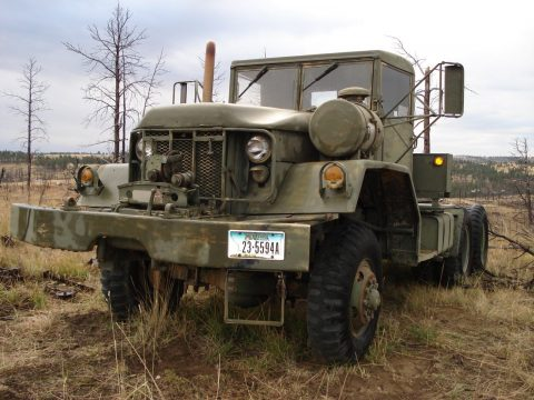 bad winch 1970 Kaiser M818 5 Ton 6×6 Military for sale