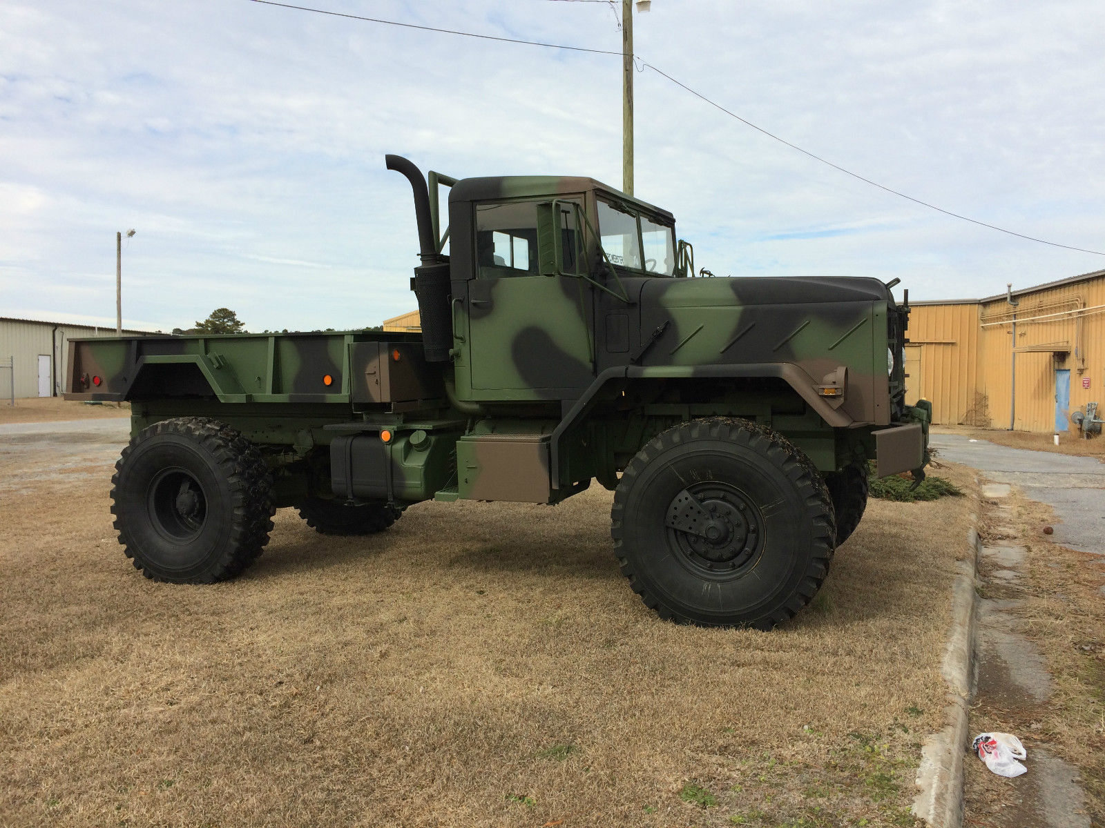 bobbed 1991 BMY M 931a2 military truck for sale