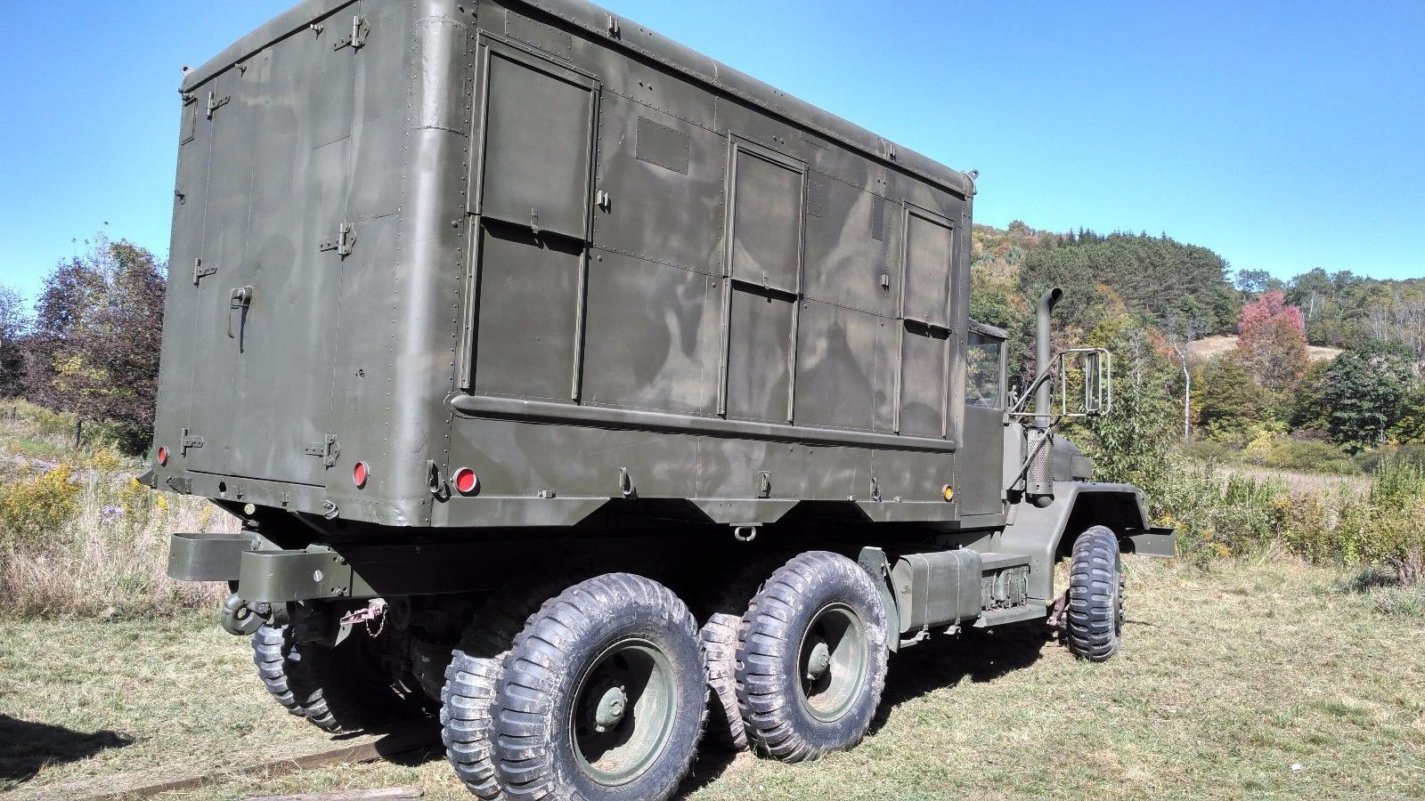 new windshield 1970 AM General M818 military