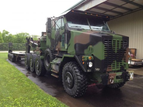 super low miles 2000 Oshkosh M1070 military for sale
