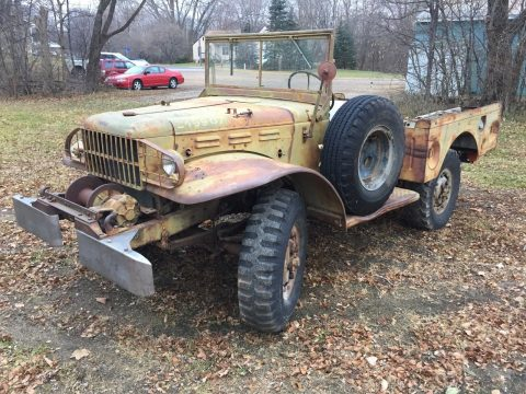 almost no rust 1945 Dodge WC 52 Weapons Carrier military for sale