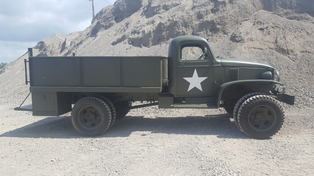 frame off restored 1944 Chevrolet G506 military for sale