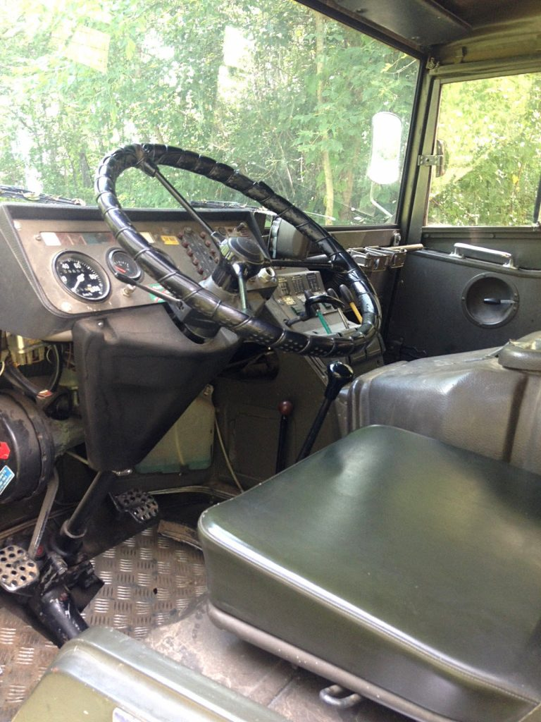 great running 1972 Steyr Puch Pinzgauer military