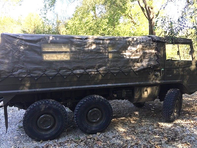 great running 1974 Steyr PUCH Pinzgauer 712M military