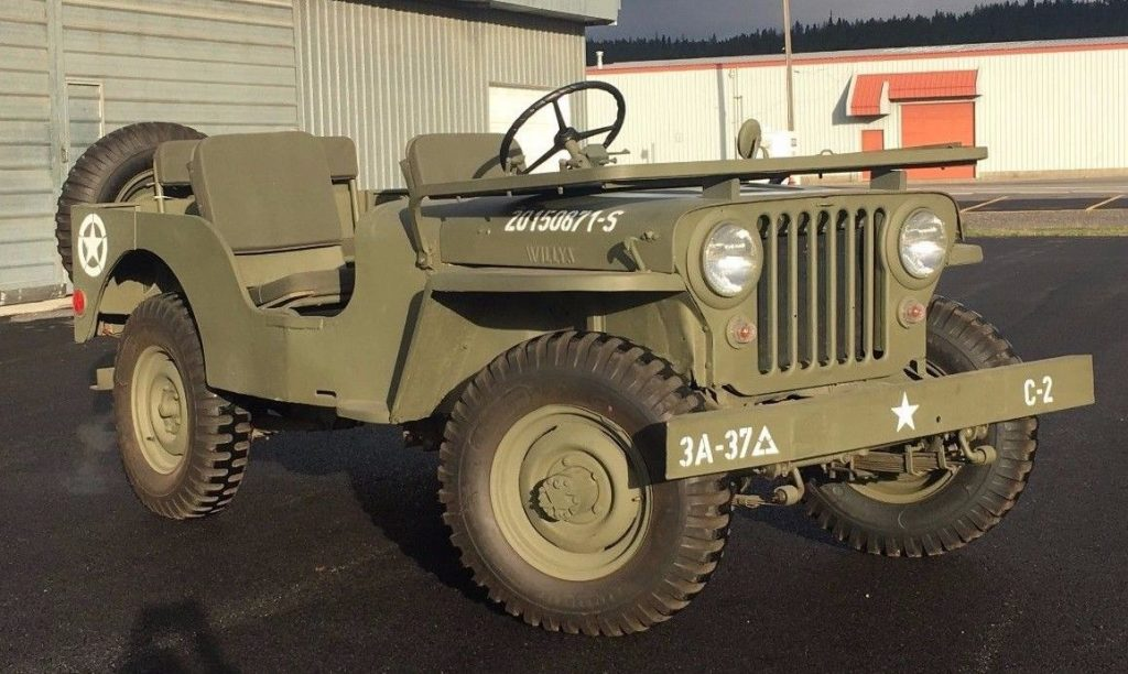 1948 willys cj2a jeep complete engine rebuild for sale ... |Jeep Cj2a Engines