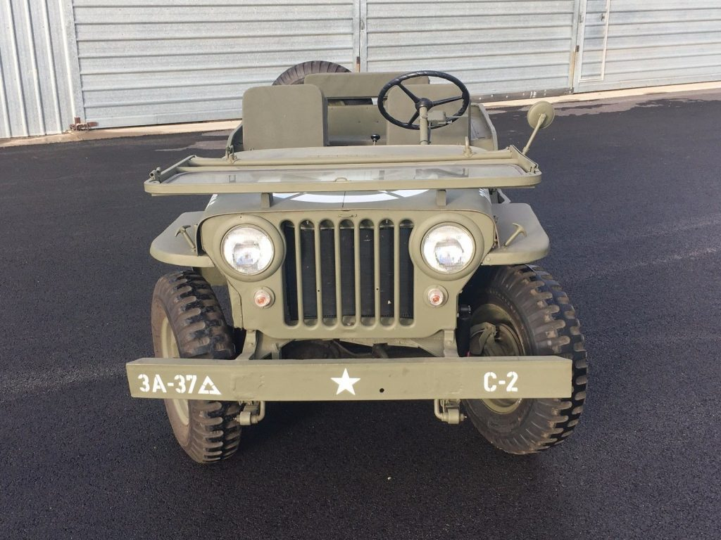 lots of new parts 1947 Willys CJ2a Jeep military