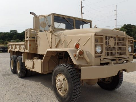 low miles 1984 AM General M923a1 Military Cargo Truck original paint for sale