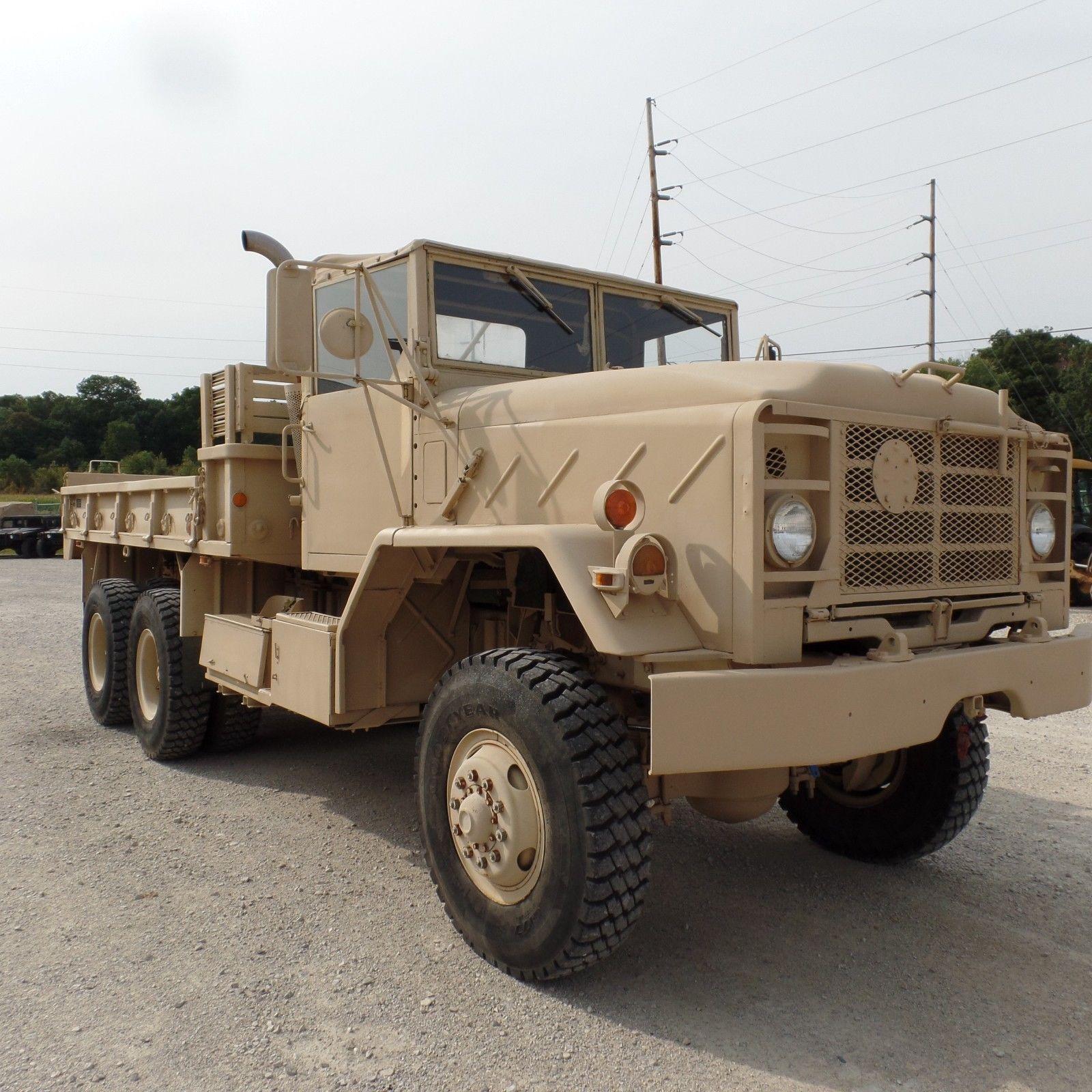 low miles 1984 AM General M923a1 Military Cargo Truck original paint