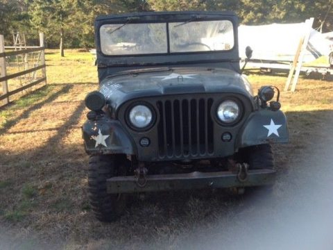 needs work 1967 Jeep M38A1 military for sale