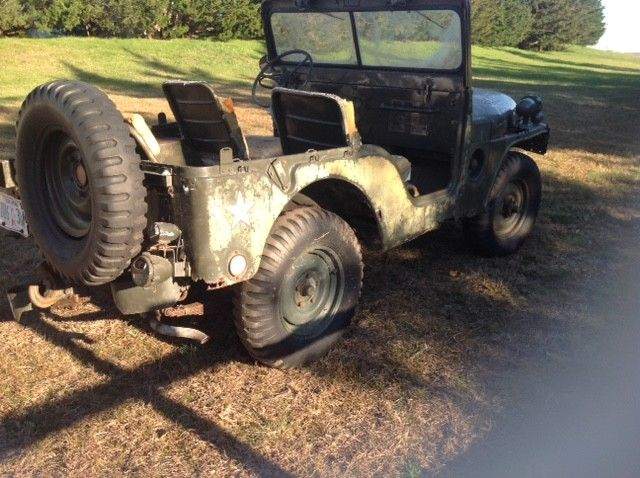 needs work 1967 Jeep M38A1 military