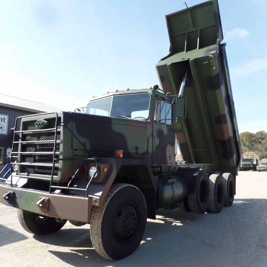 new paint 1979 AM General military dump truck