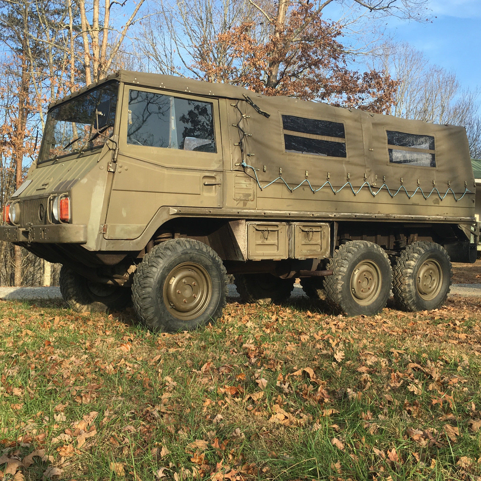 original paint 1975 Steyr Puch Pinzgauer 712 Military truck for sale