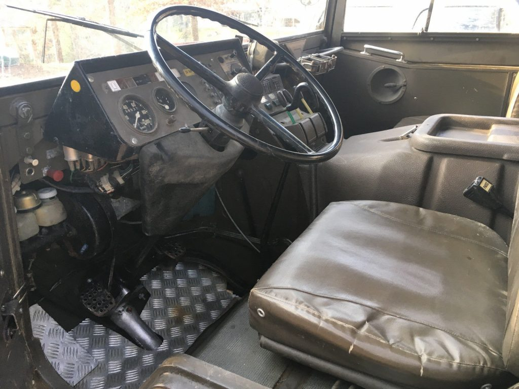 original paint 1975 Steyr Puch Pinzgauer 712 Military truck